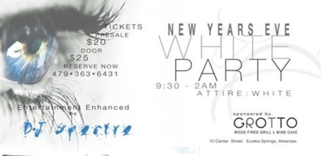 New Years Eve White Party