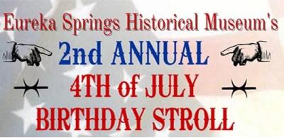 4th of July Happy Birthday Stroll