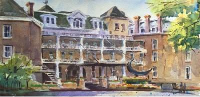 Art Tour through the Crescent Hotel
