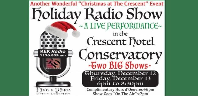 Five and Dime Drama Collective present Holiday Radio Show!