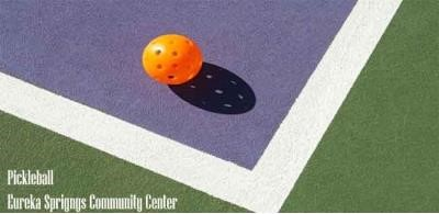 PickleBall at the Eureka Springs Community Center