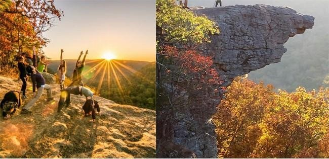 Whitaker Point Trail (Hawksbill Crag) Hike