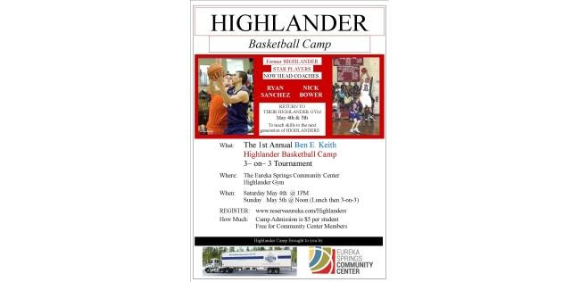Highlander Basketball Camp