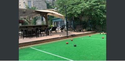 Pool Area-Boccie Ball & Lounging