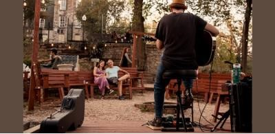 Outdoor Concert Series in the Frisco Sporting Club